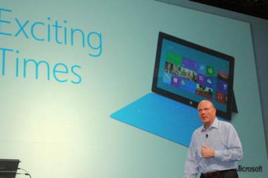 Les résultats de Microsoft plombés par les tablettes Surface