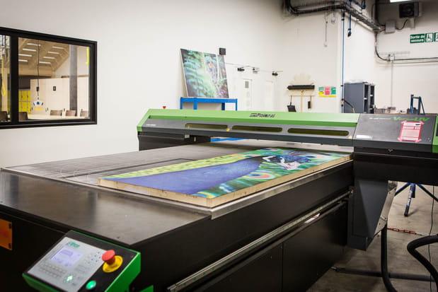 L'imprimante UV grande taille : la machine la plus chère