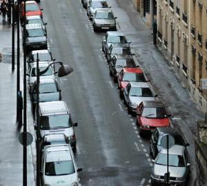 sonlogiciel repère les places de parking vide.