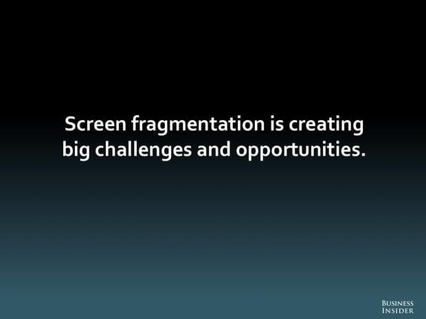 La fragmentation des écrans crée challenges et opportunités