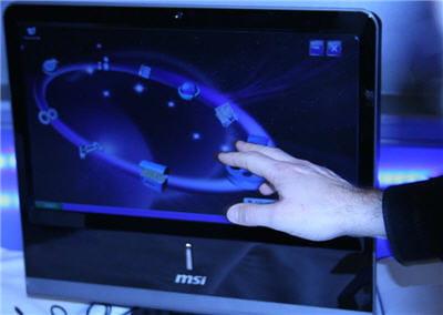 le netone dispose également d'une interface graphique adaptée au tactile