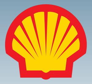 le coquillage de shell nous rappelle les origines de l'entreprise.