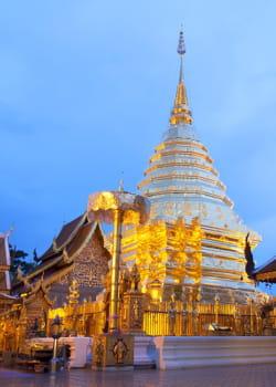 la thaïlande fournit un décor de rêve.
