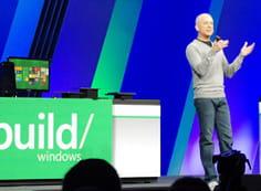 steven sinofsky, président de l'activité windows, a présenté aux développeurs
