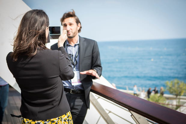 Interview sur la croisette