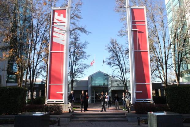 Au siège mondial de Nike, un campus entièrement dédié au sport
