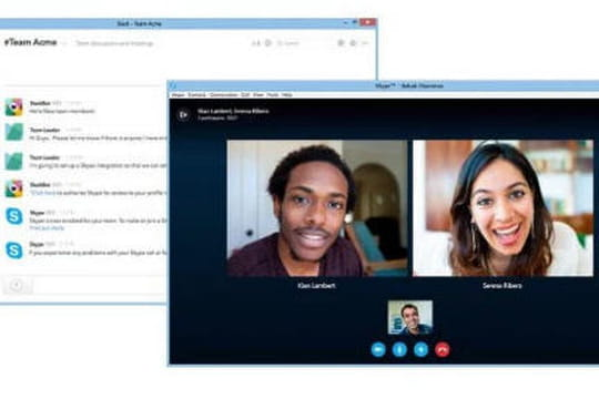 Skype s'invite dans Slack