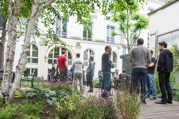 Un jardin pour prendre l'air