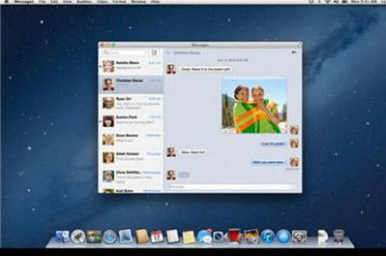 Apple Mac OS X Mountain Lion sort de sa cage