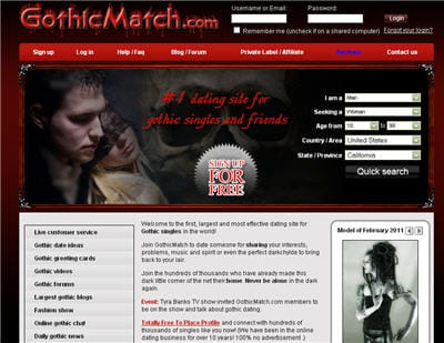 Best Alternative Dating Sites (Emo, Goth, Punk