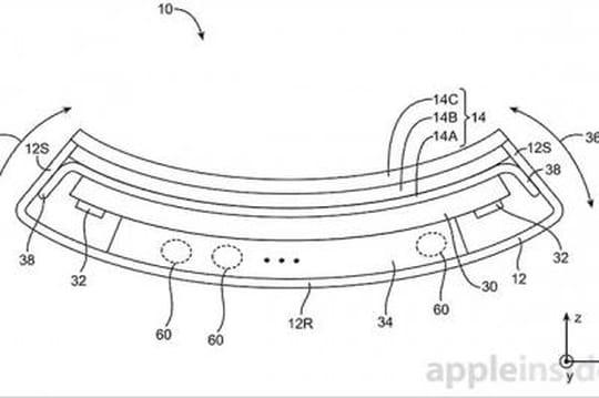 Apple dépose un brevet pour un iPhone pliable