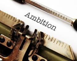 selon einstein, l'ambition ne fait pas tout.