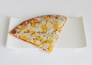 un euro = un cinquième de pizza
