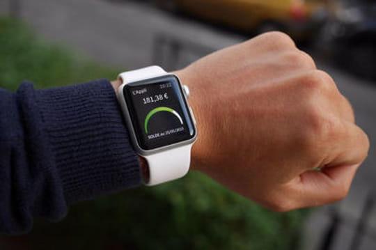 Société générale lance une version Apple Watch et Android Wear de son appli mobile