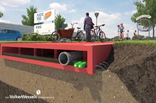 L'étonnant projet de Rotterdam pour remplacer l'asphalte sur les routes