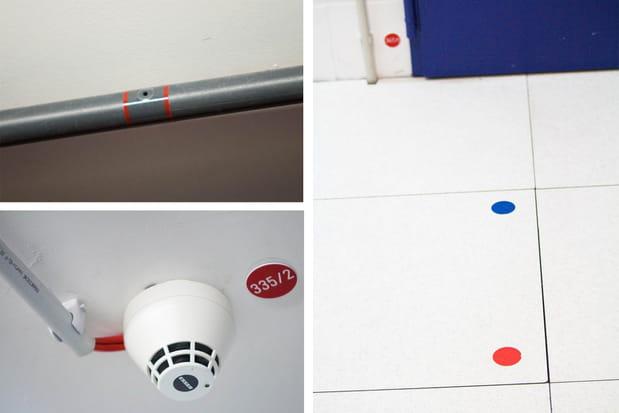 Des systèmes de détection d'incendie multiples