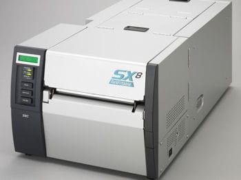 l'imprimante réinscriptible toshiba tec b-sx8r