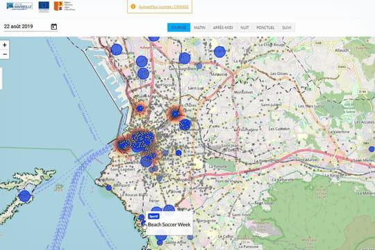 A Marseille, une carte dopée aux données pour gérer l'espace public