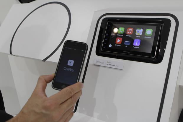 Pioneer et Apple Carplay
