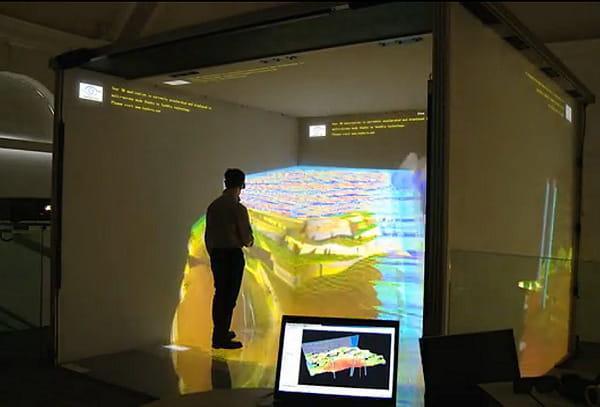 Des possibilités de téléprésence en environnement immersif 3D