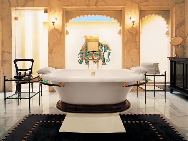 Des salles de bain privatives surdimensionnées