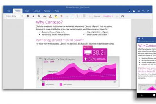 Office 2016 et les apps Office pour Windows 10 présentées le 16 avril