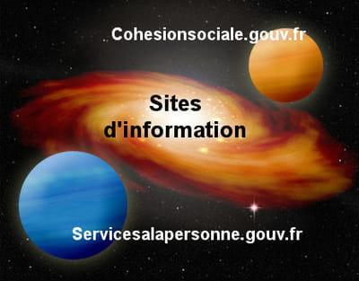les sites d'information du grouvernement.