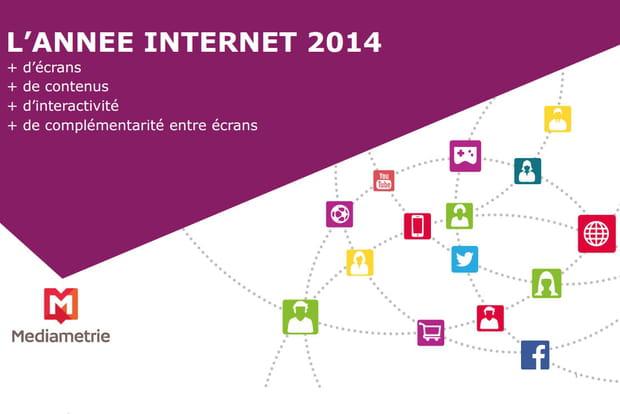 Internet 2014 Médiamétrie
