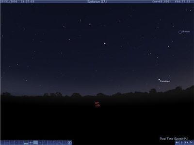 pour s'entraîner à reconnaître les étoiles et constellations