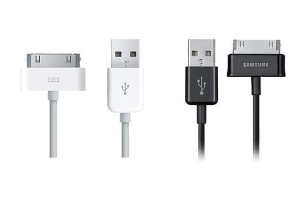 Des câbles USB quasi identiques