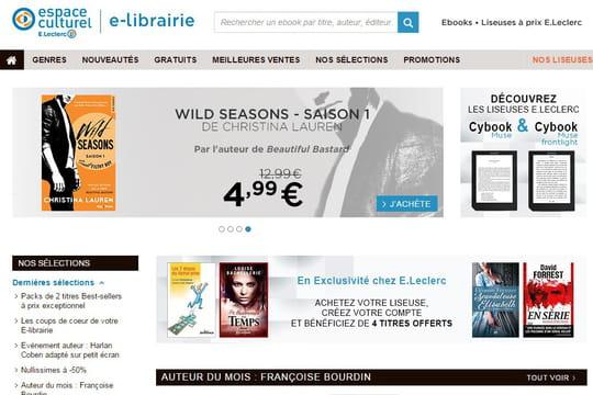 E.Leclerc se lance dans la bataille du livre numérique avec Bookeen