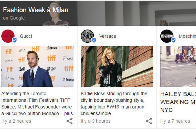 Des Google Posts prennent déjà une place impressionnante dans les résultats de Google.fr
