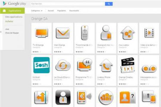 Comment Orange a musclé le référencement de ses apps mobiles