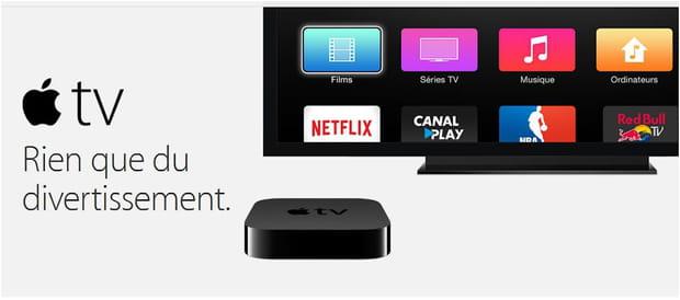 Une mise à jour de l'Apple TV?