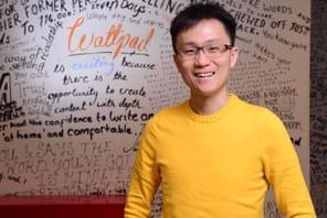 """Allen Lau (Wattpad):""""Nous voulons devenir la fabrique de l'industrie du divertissement"""""""
