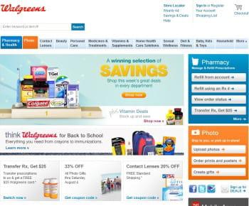 walgreens est le 1er e-marchand us de la catégorie 'alimentaire et pharmacie'
