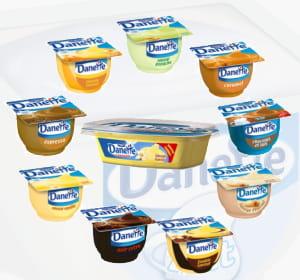 danette se décline en une trentaine de goûts et formats différents.