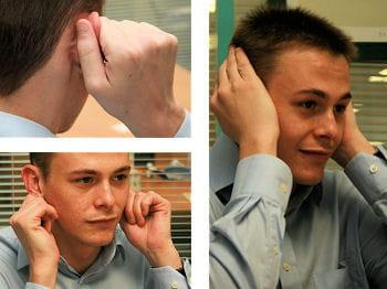 se massez les oreilles pour améliorer sa concentration