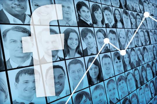 """Coup de mou pour le secteur """"Finance & Assurances"""" sur Facebook"""