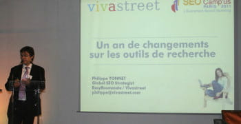 philippe yonnet global seo strategist chez vivastreet / easyroommate world  lors