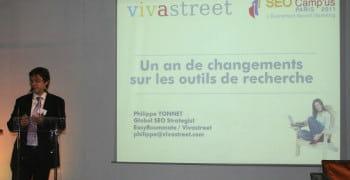 philippe yonnet global seo strategist chez vivastreet / easyroommate world lors
