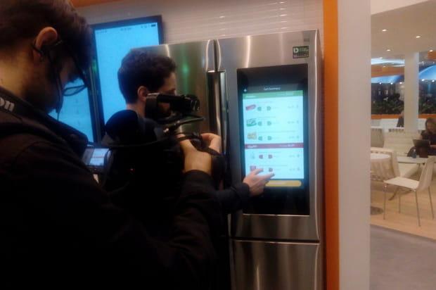 Le réfrigérateur connecté de MasterCard