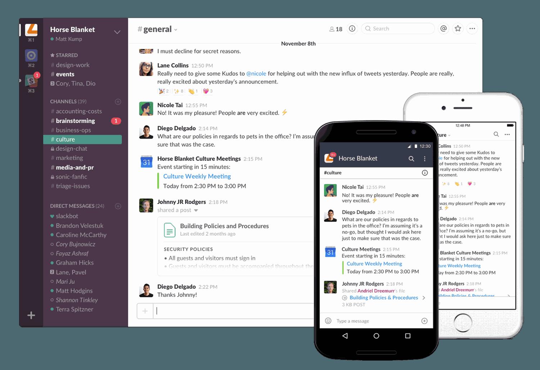 Avec Enterprise Grid, Slack lance sa version pour les grandes entreprises