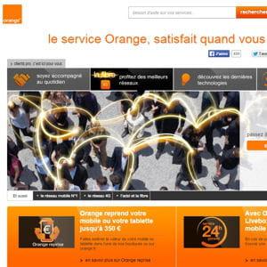 orange est l'unique représentant dela france.