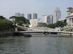 vue depuis singapour river.