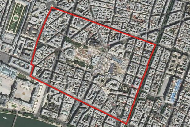 16e: Les Halles (1er arrondissement)