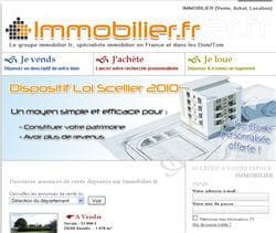 le site de immobilier.fr