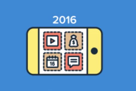 Applications mobiles : les  tendances 2016 selon AppAnnie