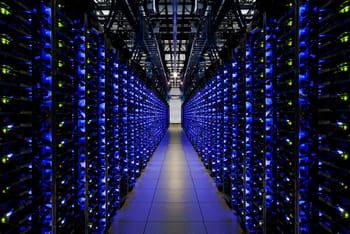 intérieur du data center de google dans le comté de douglas en géorgie