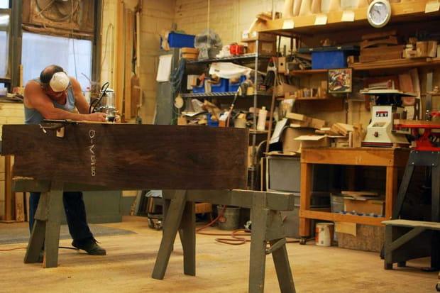 Visite de l'atelier Steinways & Sons